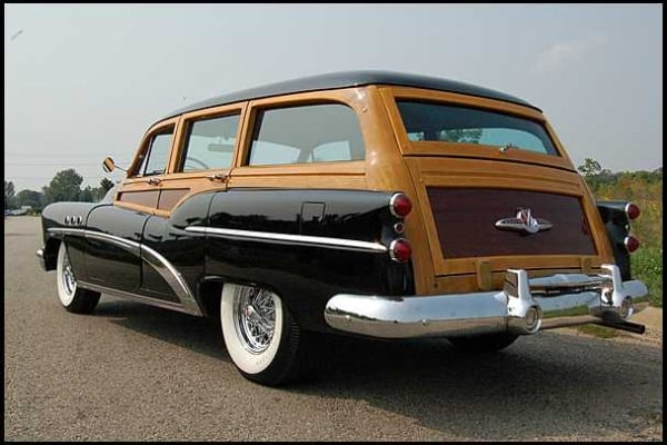 1953 Buick Estate Wagons