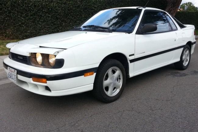 1990 – 1992 Isuzu Impulse