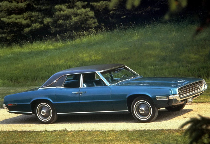 Ford Thunderbird - 4 Door Muscle Cars
