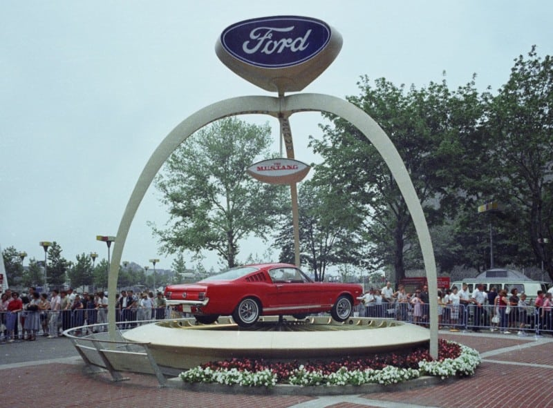 Ford Mustang At The World Fair 1964