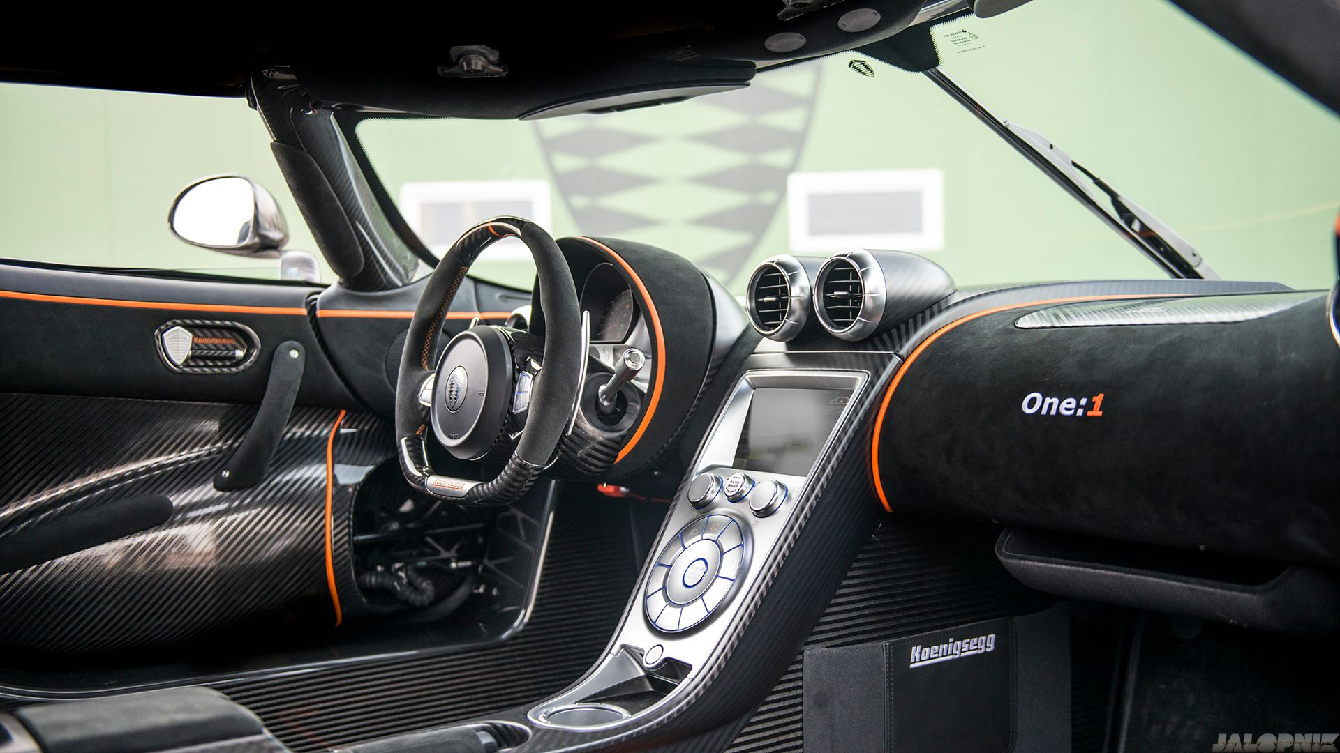 Koenigsegg One Interior >> Koenigsegg One 1 Interior Image Autowise