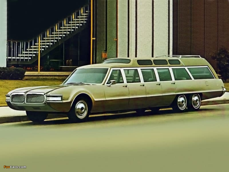 1968 Oldsmobile Toronado AQC Jetway 707