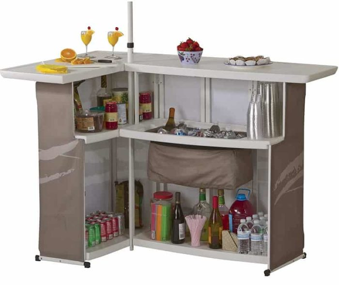 Portable Man Cave Bar