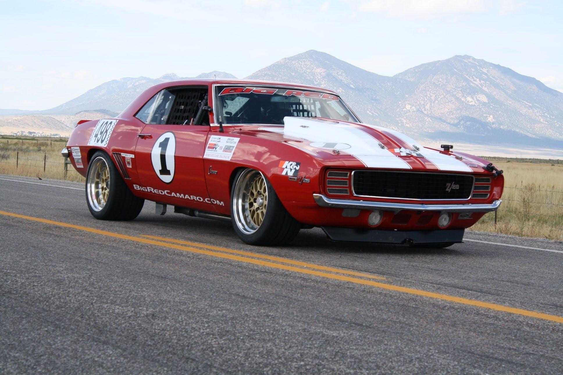 Big Red 1969 Camaro: A Classic Muscle Car