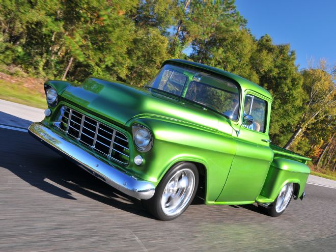 1955 Chevrolet 3100 Has New Lease On Life