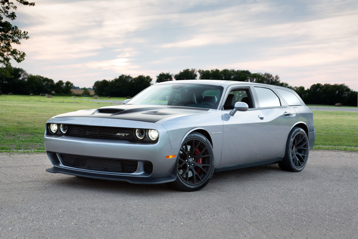 If There Were A Dodge Magnum Hellcat