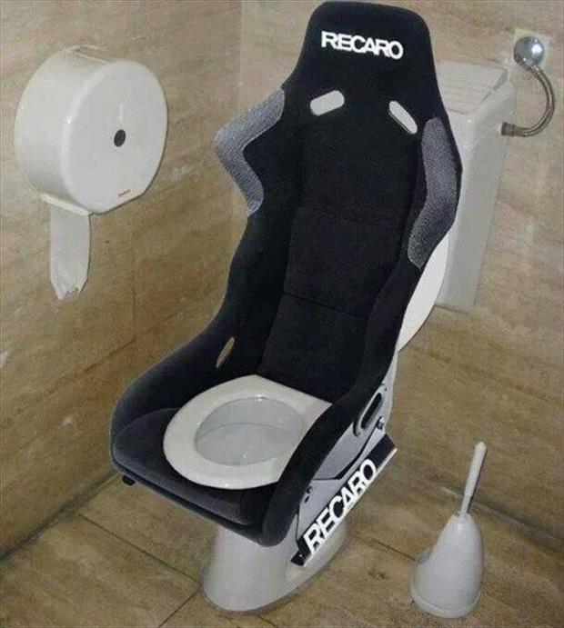 Racing Car Toilet Seat