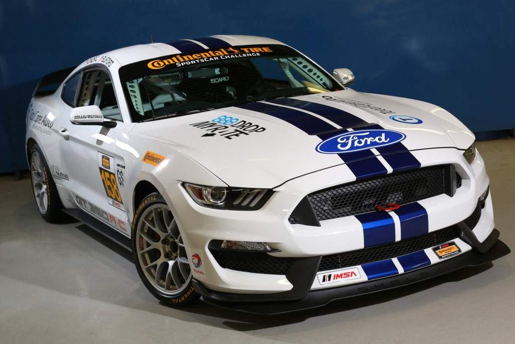 Ford Shelby GT350R C Front 3/4