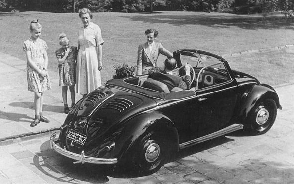 1949 - 1953 Hebmüller Volkswagen Type 14A 2+2 Cabriolet