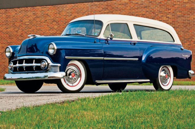 1953 chevy nomad makes station wagons cool gear heads