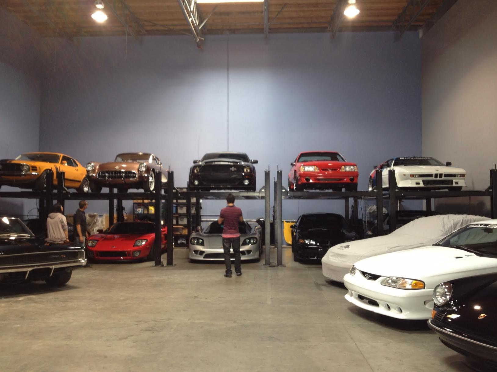 Who stole paul walker 39 s car collection for Garage audi tours