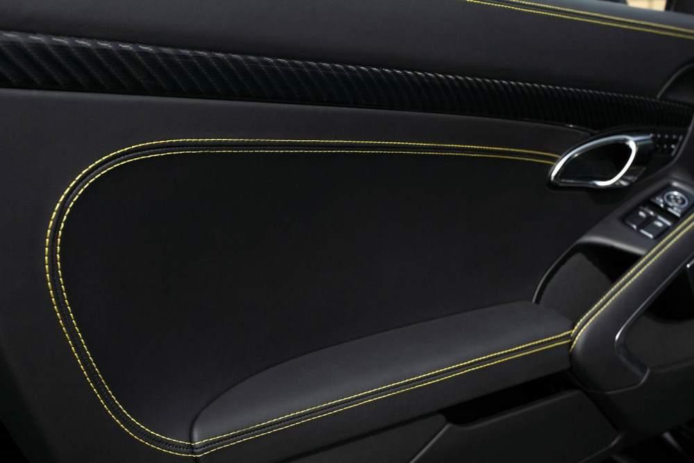 Porsche Stinger Interior