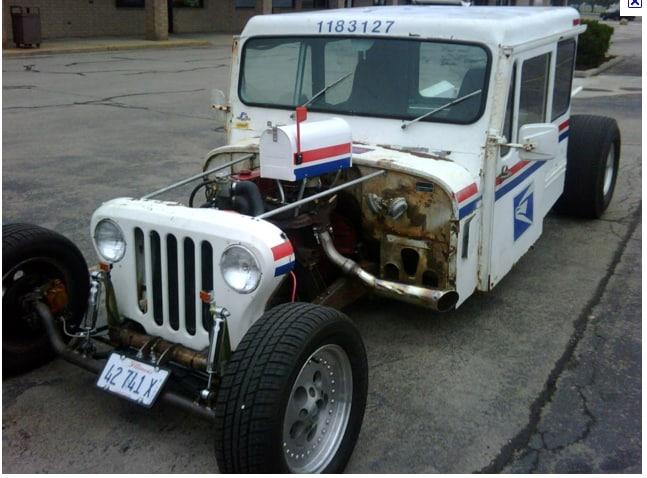 Postal Jeep Rat