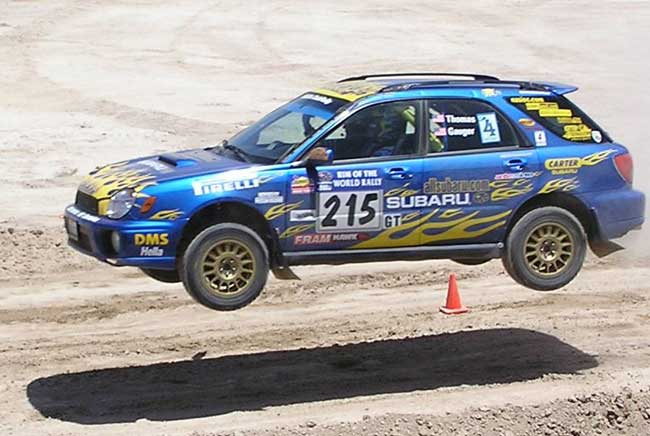Subaru WRX Rally Wagon