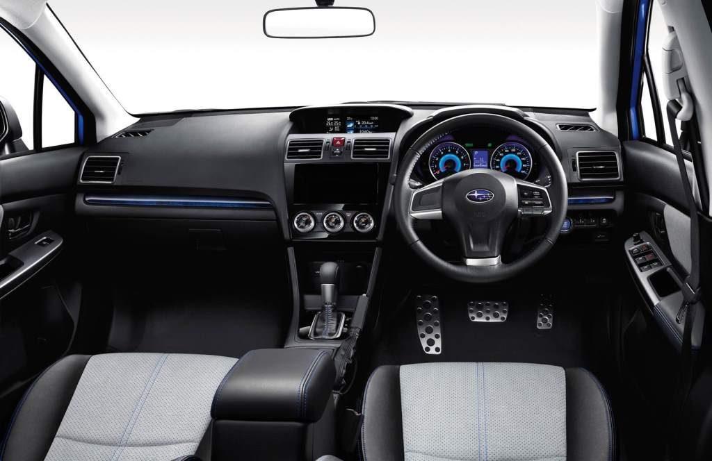 Subaru Impreza Hybrid Driver's Seat