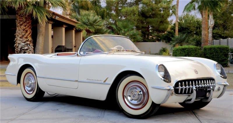 1953 Chevrolet Corvette in White