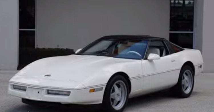 1980s Cars - 1988 Corvette RPO B2k