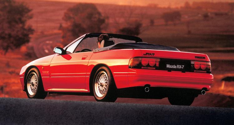 1980s Cars - 1988 RX-7 Turbo II