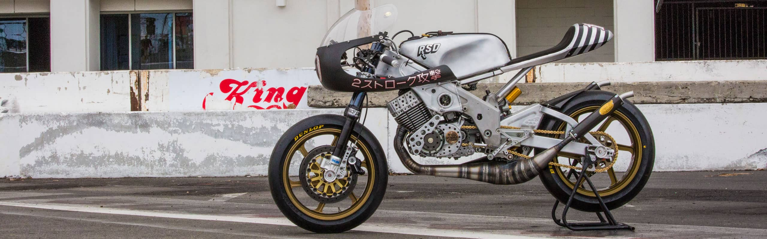 """The """"2 Stroke Attack"""" RD400 by Roland Sands"""