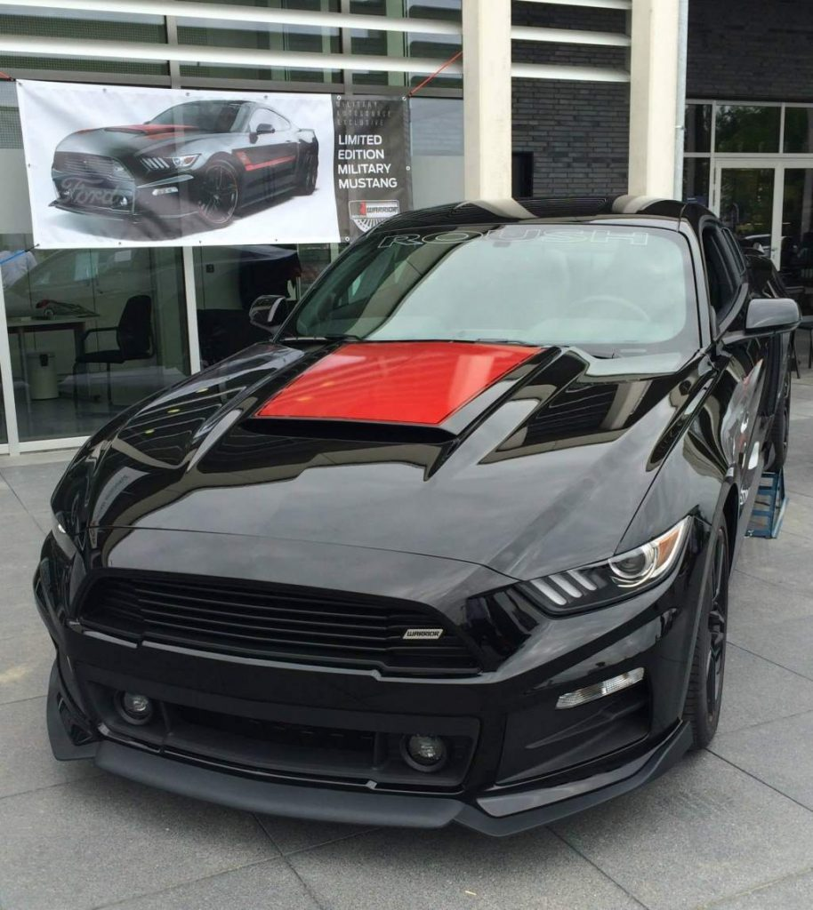 Roush Warrior Mustang Limited Edition Military Mustang