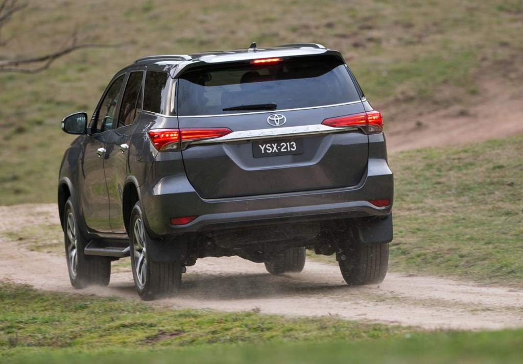 2016 Toyota Fortuner Rear End