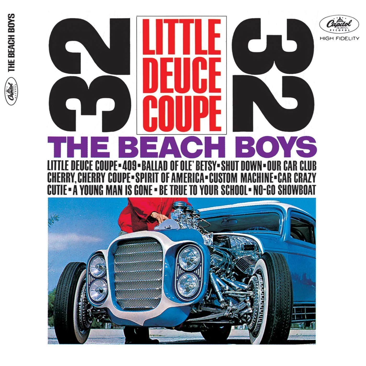 Image result for beach boys album little deuce coupe