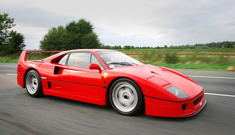 Top 10 Supercars - Ferrari F40