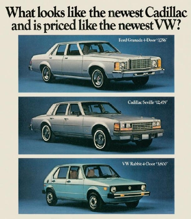 Ford Granada Advert
