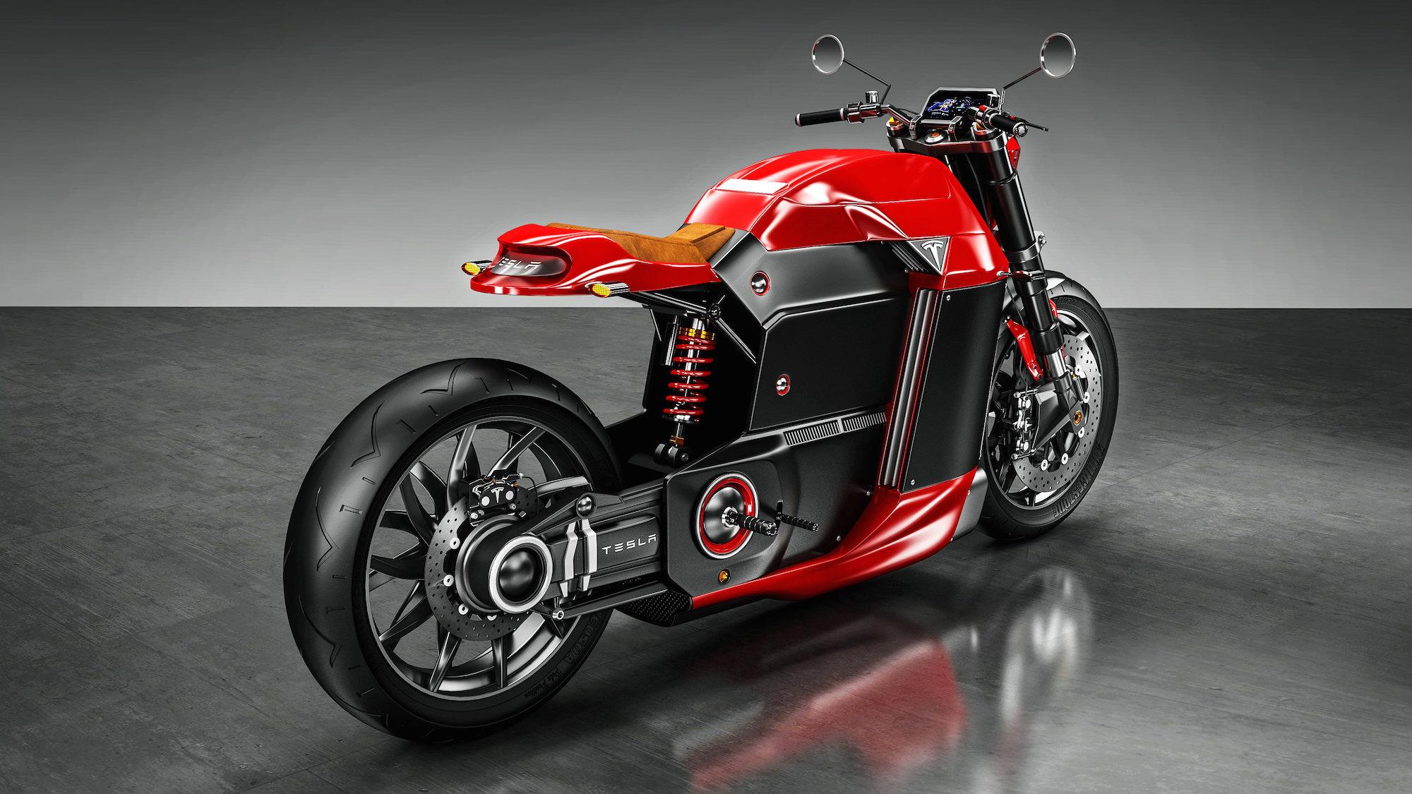 Tesla Motorcycle Concept - Tesla Model M 2