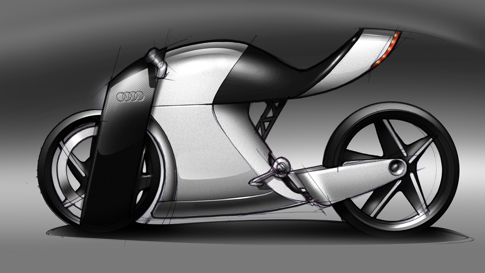 The Audi Rr Concept Bike By 5 11am