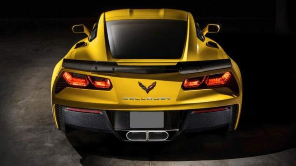 Callaway Corvette Z06 Rear View