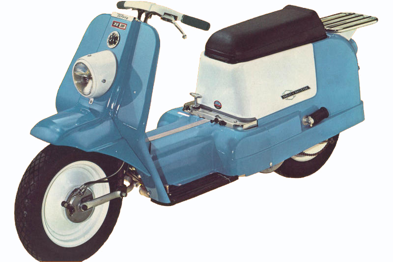 The Unusual Harley Topper Scooter
