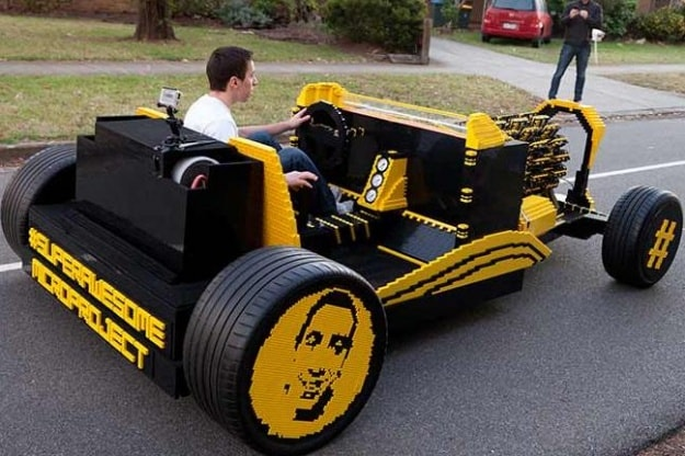 Real Lego Car - Lego Hot Rod