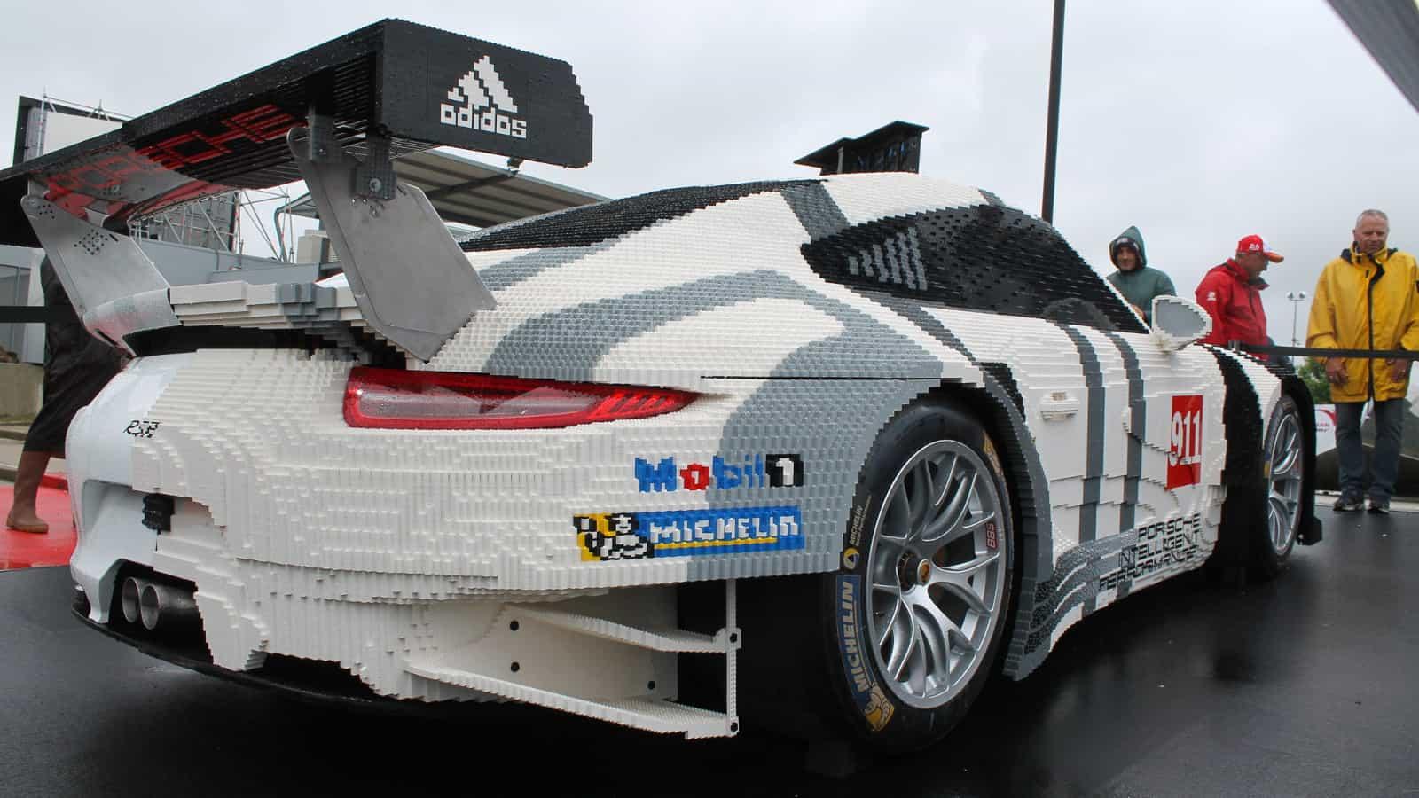 Life Size Lego Car Porsche 1