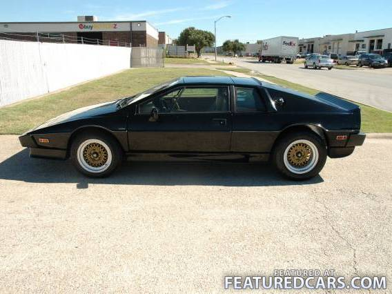 Fastest Cars Of The 80s - Lotus Esprit Turbo