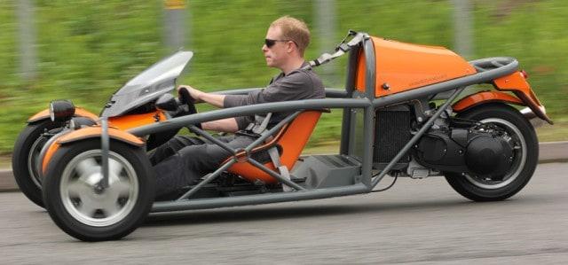 Exomotive Eco-Exo Kit Car In Motion