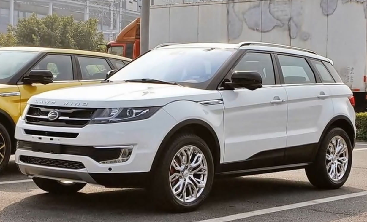 Chinese Cars – Land Wind X7