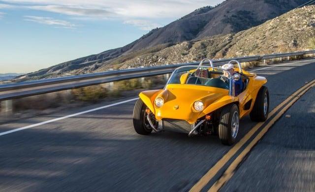 Meyers Kick Out Manx SS Kit Car Driving