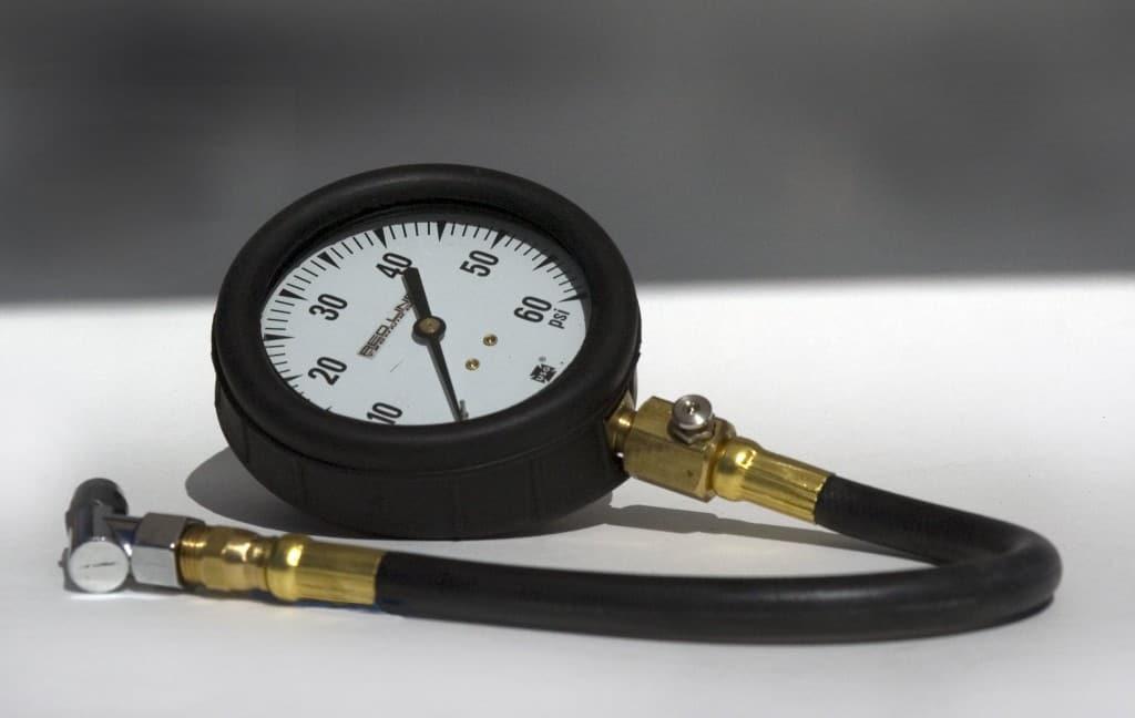 A Tire Pressure Gauge