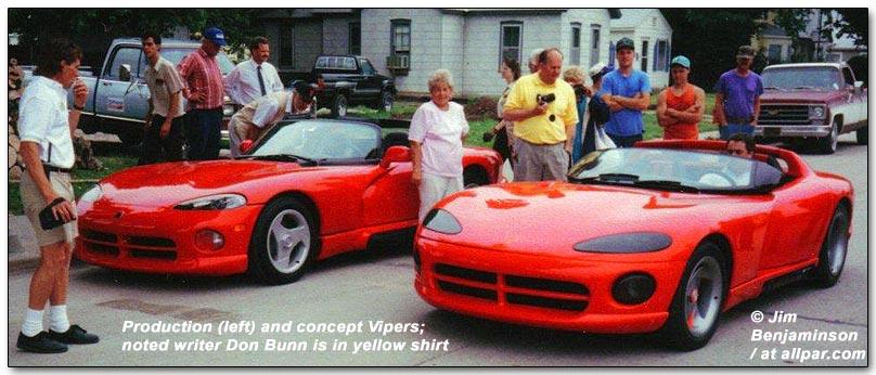 Fastest Cars Of The 80s - Dodge Viper Concept
