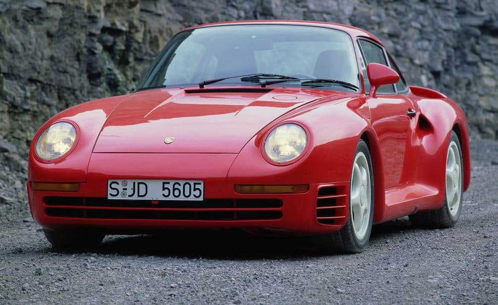 Fastest Cars Of The 80s - Porsche 959