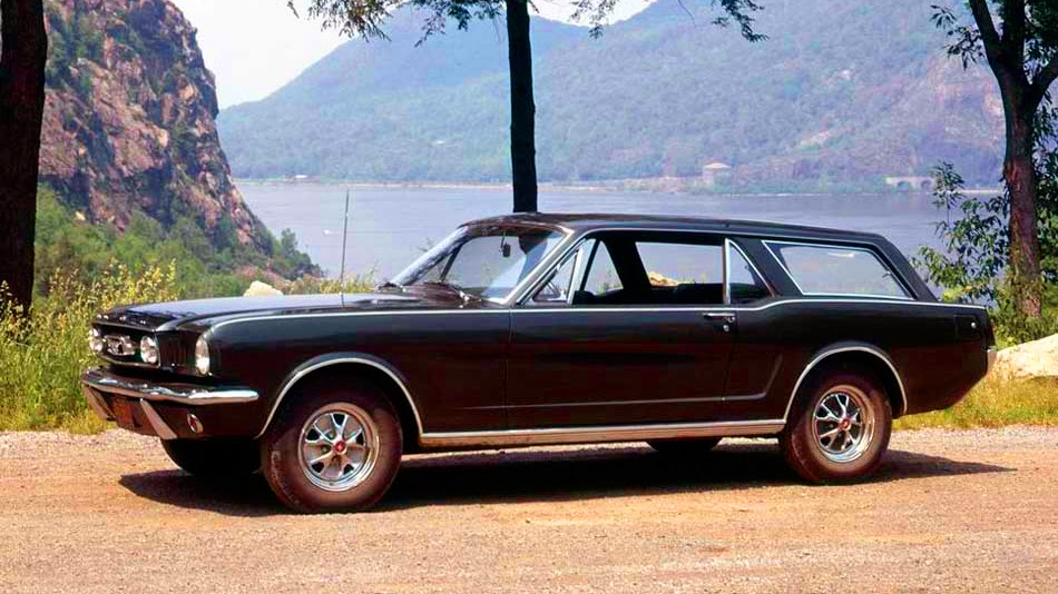 Mustang Truck 1