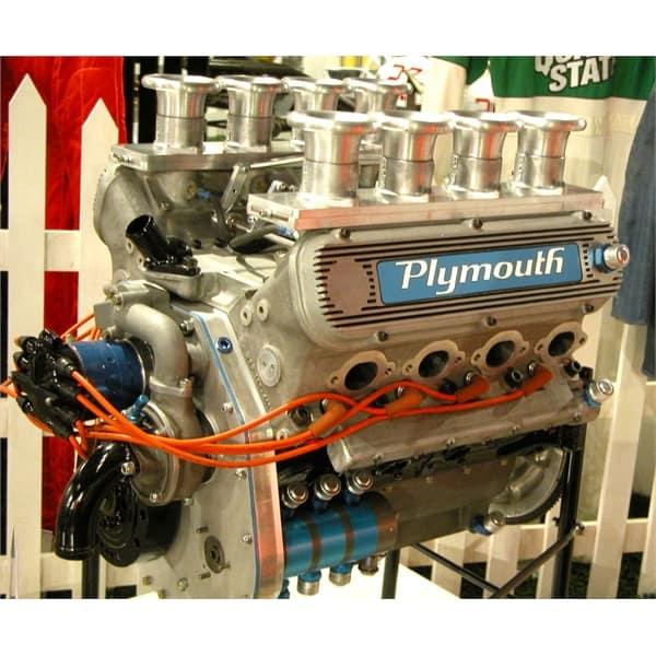 1969 Plymouth Weslake DOHC V8 Engine