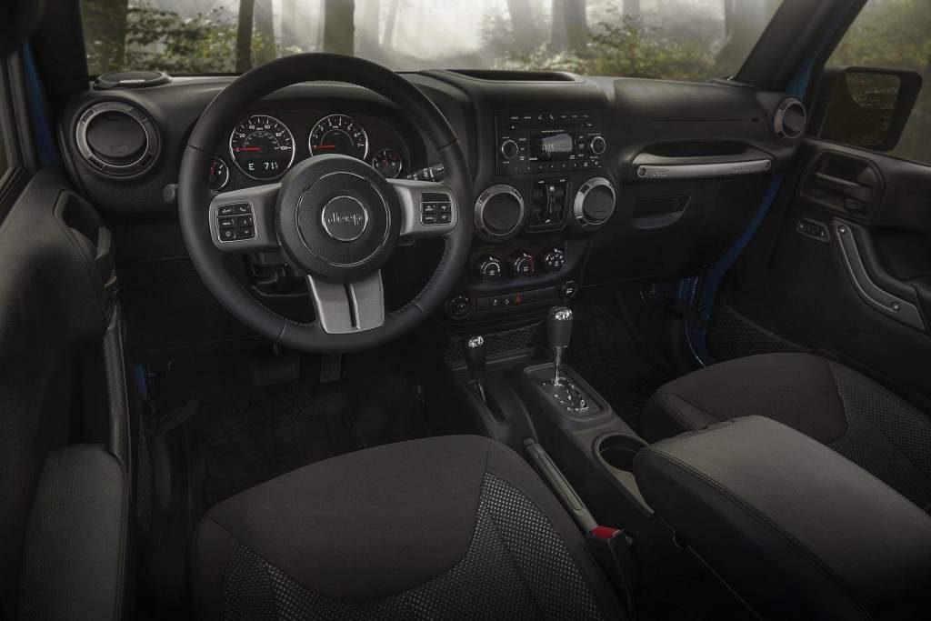 Jeep Black Bear Interior