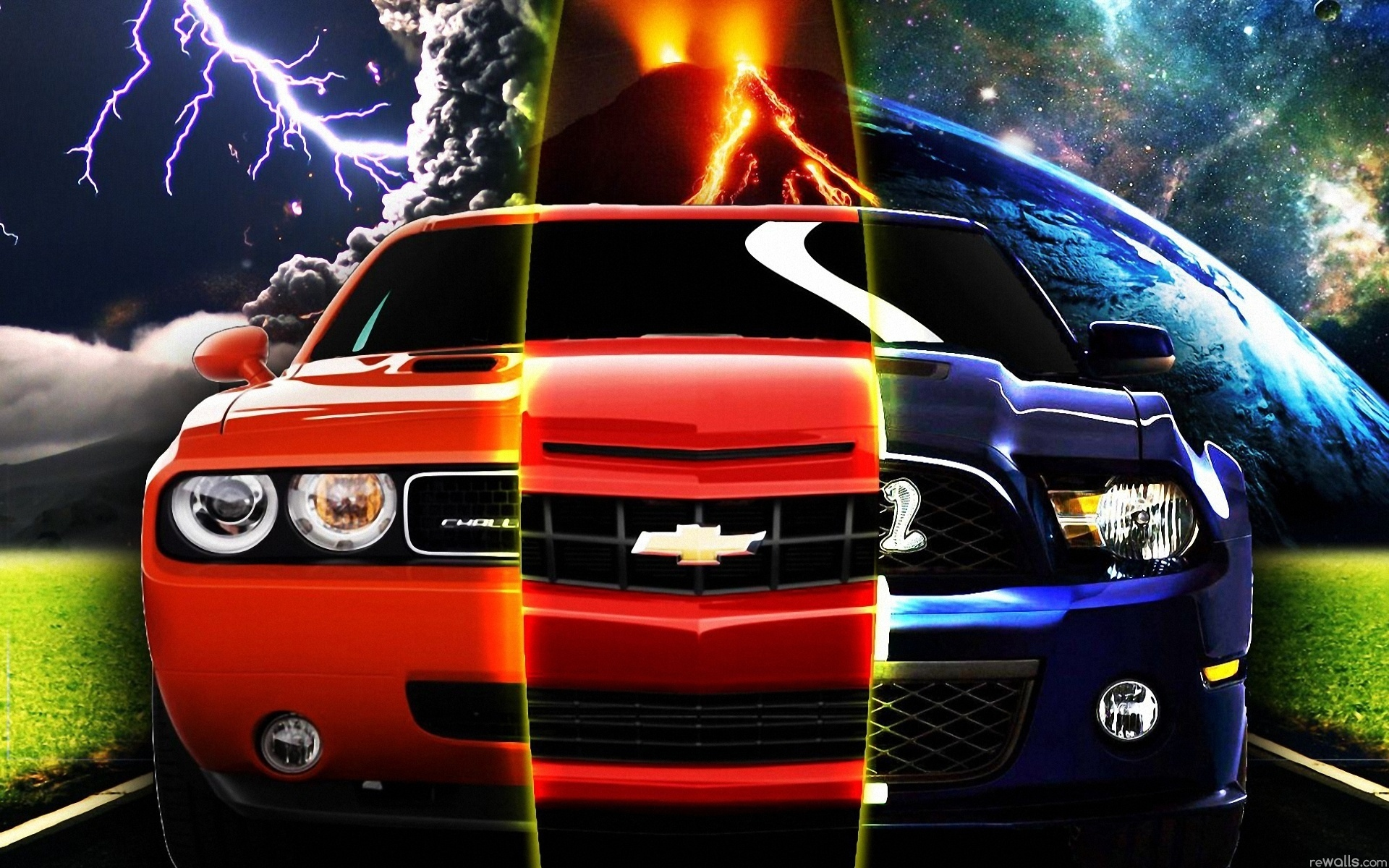Which Muscle Car Is Built Best Camaro Challenger Or