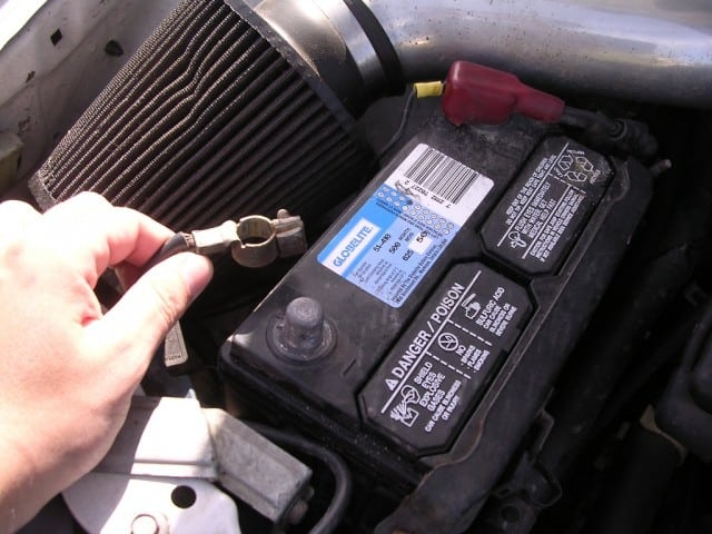 Battery Terminals On Car Battery