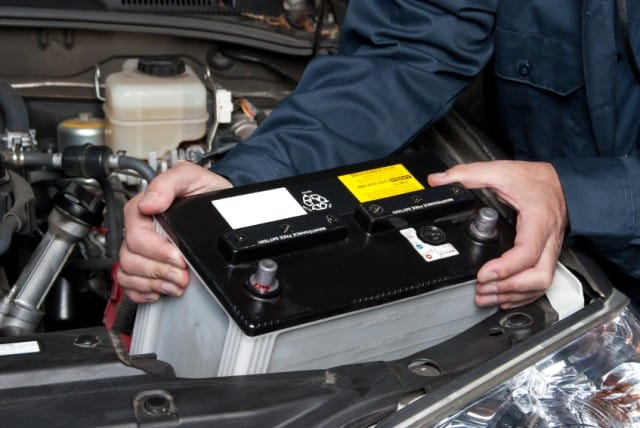 Removing A Car Battery
