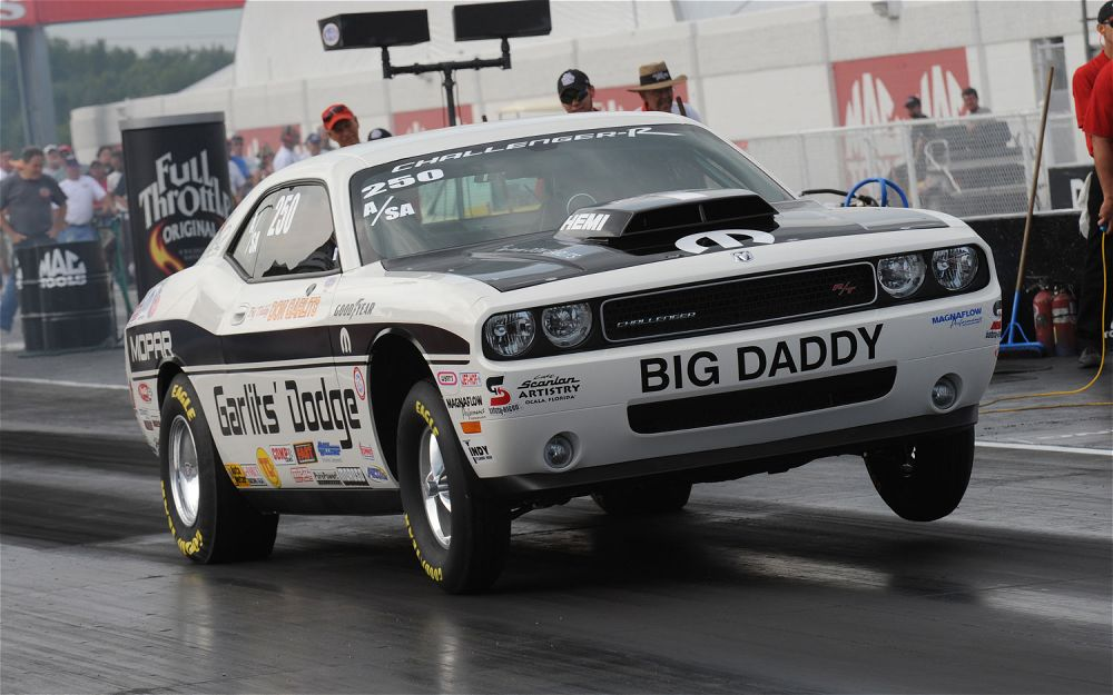 Fast 0 60 Times Dodge Challenger Drag Pak On Track