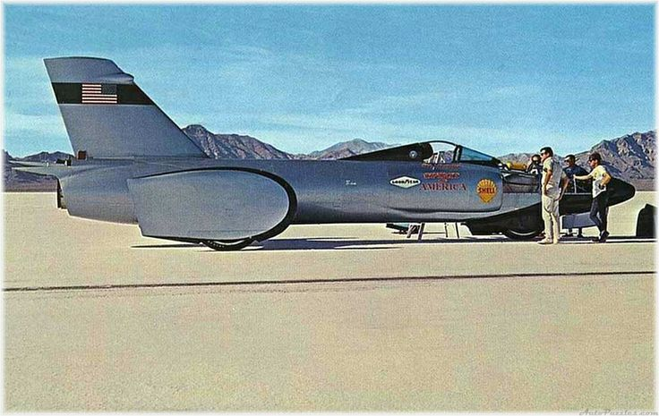 Early Land Speed Record Vehicles