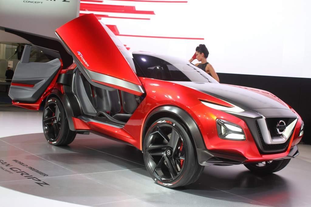 Nissan Gripz Concept Front 3/4